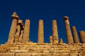 Agrigento tapınağı vadisi — Stok fotoğraf