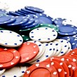 Poker fiche — Stock Photo