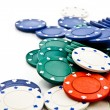 Poker fiche - Stock Photo