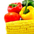Stock Photo: Corn and Parica