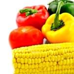 maíz y parica — Foto de Stock