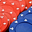 Stock Photo: Poker fiche