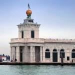 Italy, Venice: Punta della Dogana — Stock Photo