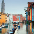Italy, Venice: Burano Island — Stock Photo
