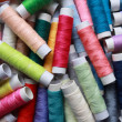 Coloured cotton threads — Stock Photo #2010233