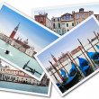 Collage of Venice, Italy — Stock Photo