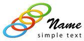 Business logo — Stock Photo