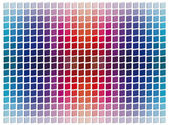 Tridimensional mosaic tiles — Stock Photo