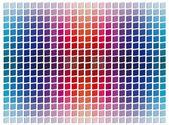 Tridimensional mosaic tiles — Stock Photo
