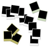 Colored frames for photo collage — Stock Photo