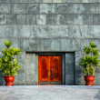 Stock Photo: Ho Chi Minh Mausoleum Door