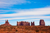 Monument Valley Rock Formations — Stock Photo