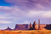 Monument Valley in Afternoon Light — Stok fotoğraf