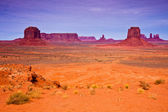 Monument Valley Desert Landscape — Stock Photo