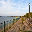 Vidin Riverwalk - Stock Photo