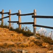 Mountain Staircase and Fence — Stock Photo