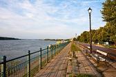 Vidin Riverwalk — Stock Photo