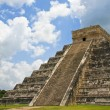 Stock Photo: Kukulkan Pyramid at Chichen Itza