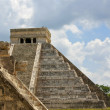 Mayan Pyramid and Ruins — Stock Photo