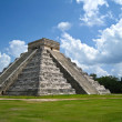 KukulkPyramid at Chichen Itza — Stock Photo #2311024