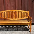 Beautiful Garden Bench - Stock Photo