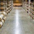 Napa Valley Wine Cellar - Stock Photo