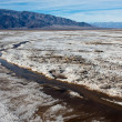 Salt Flats in Death Valley — Stock Photo
