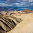 Death Valley Badlands — Stock Photo