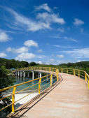 Long Bridge in Roatan — Foto Stock