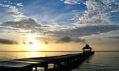 Sunrise over the Caribbean — Stock Photo