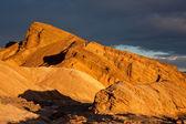 太阳淹岩 — 图库照片