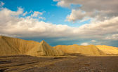 Death Valley Badlands at Sunrise — Stock Photo