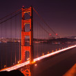 Golden Gate Nordturm — Stockfoto