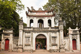 Temple of Literature Gate — Stock Photo