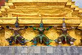 Demon Statues at Grand Palace — Stock Photo