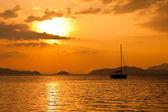 Thailand Sunset — Stock Photo