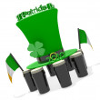 St Patricks - Stockfoto