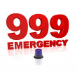 999 Emergency - Stockfoto