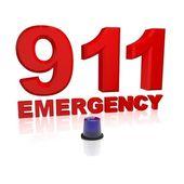 911 awaryjne — Zdjęcie stockowe