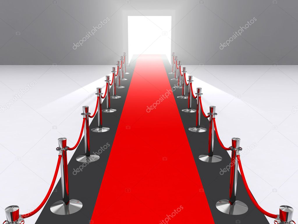 A red carpet premiere concept — Stock Photo #2011471