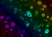 Blurred gradient lights — Stock Photo