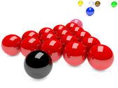 Snooker — Zdjęcie stockowe