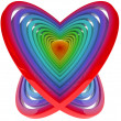 3D Heart - Stok fotoraf