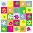 Daisy Grid — Stock Photo