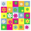 Daisy Grid — Stockfoto