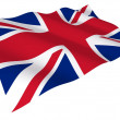 Flag of the United Kingdom - Foto Stock