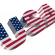 USA Text — Stockfoto
