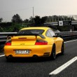 Racing car on highway — Stock Photo #2009292