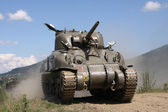 Sherman Tank – WW II — Stock Photo