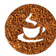 Coffee Time Symbol — Foto de Stock